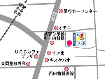 テイクえくび薬局地図