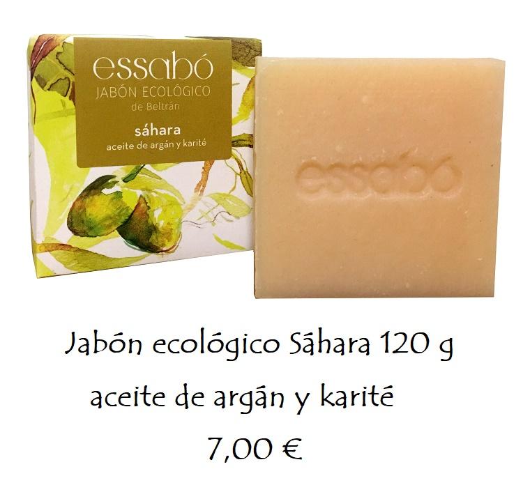 Jabón ecológico aceite de argán y karité