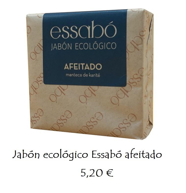 Jabón ecológico afeitado