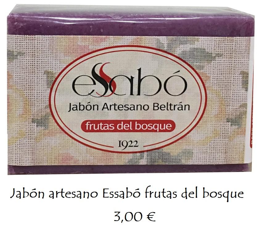 Jabón natural frutas del bosque
