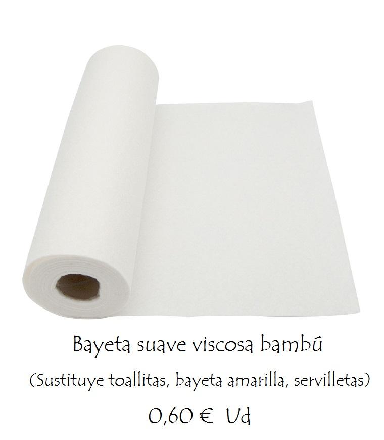Bayetas lavables