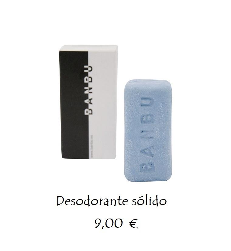 Desodorante sólido ecológico 4 fragancias 9,00 €