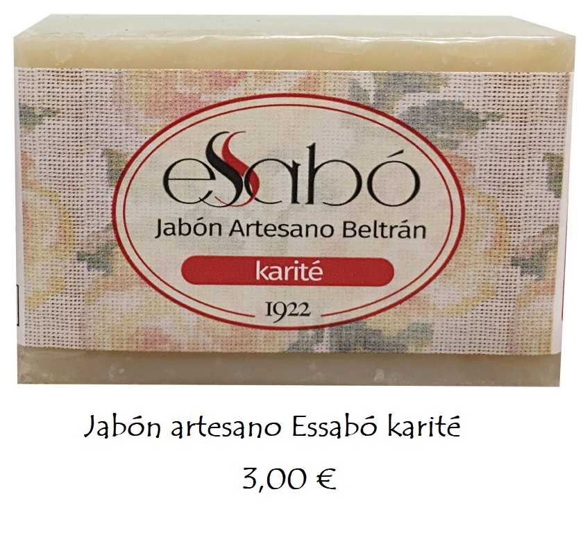 Jabón natural karité