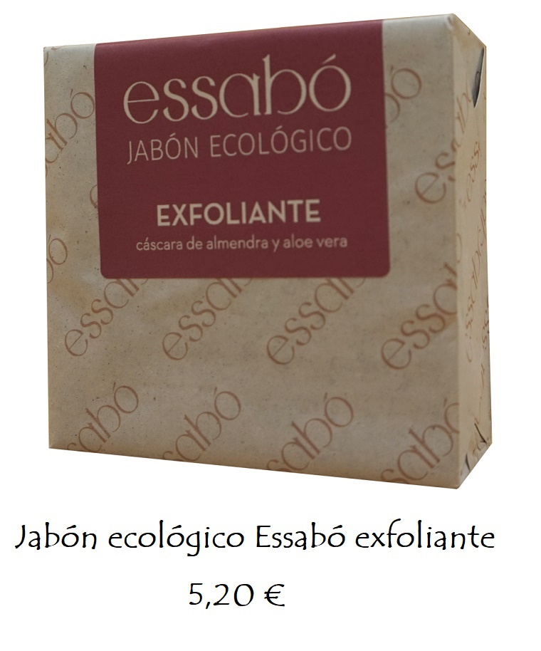 Jabón ecológico exfoliante