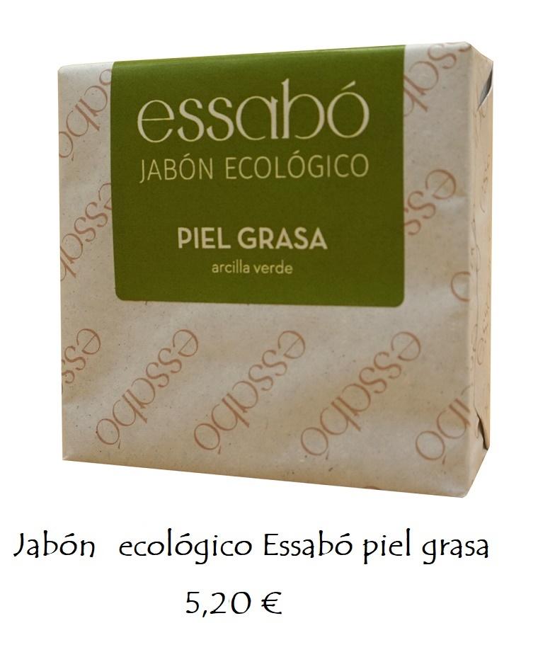Jabón ecológico piel grasa