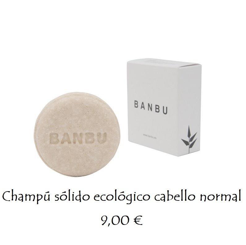 Champú sólido ecológico cabello normal 9,00 €