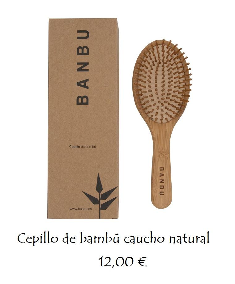 Cepillo masajeador bambú y caucho AGOTADO