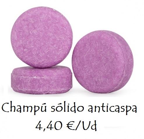 Champú sólido anticaspa 4,40 €