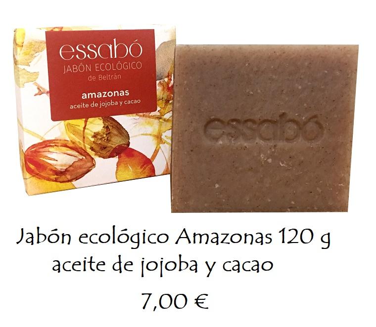 Jabón ecológico aceite de jojoba y cacao