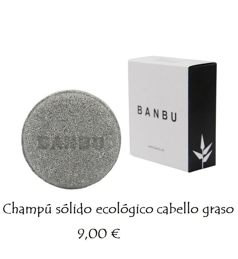 Champú sólido ecológico cabello graso 9,00 €