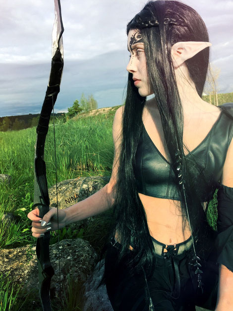 image: nina luca, beaumond volketswil, beaumond volketswil 2015, beaumond volketswil cosplay, schweizer cosplay, schweizer cosplayer, swiss cosplay, swiss cosplayer, moriquende cosplay, dark elve cosplay, dark elve, elve cosplay, elve warrior