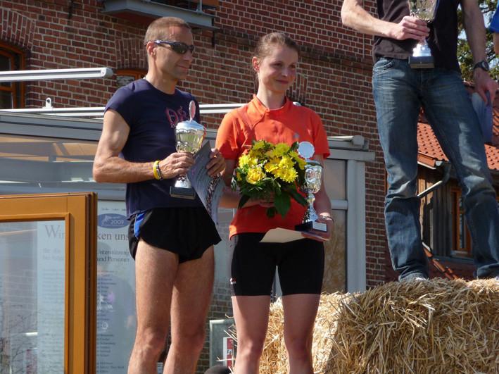 Darß Marathon 2009, 2. Platz Gesamt