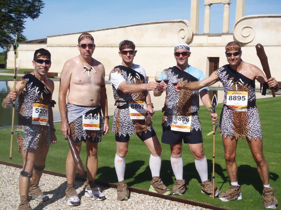 Medoc 2010- unser Cave Men Team
