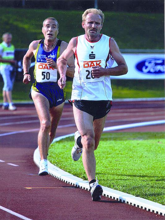 DM 10.000m 2009, Deutscher Vizemeister M50
