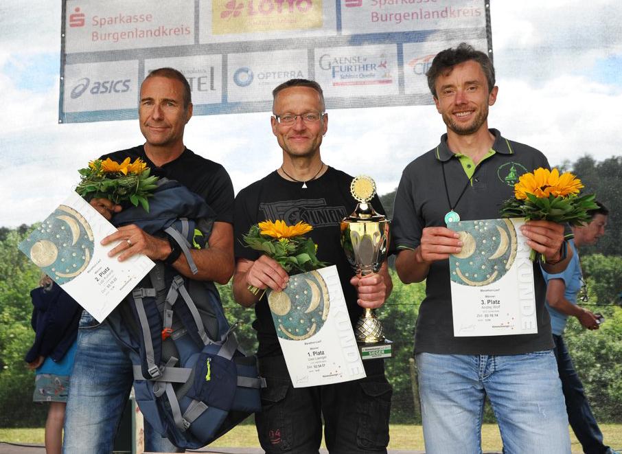 Himmelsscheiben Marathon Naumburg 2017, 2. Platz Gesamt