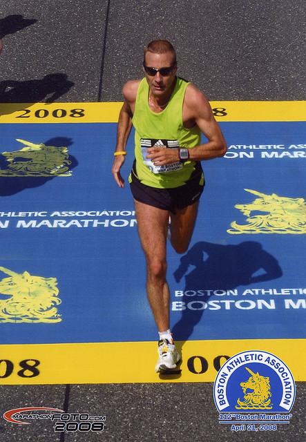Boston 2008 (bester Deutscher)