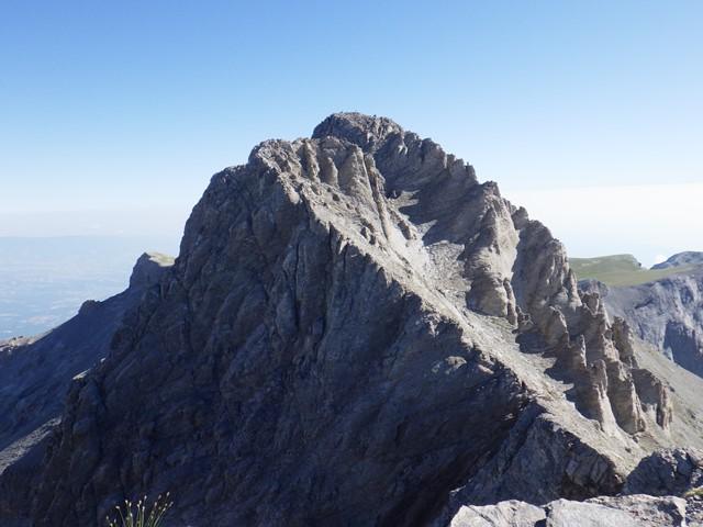 最高峰ミティカス・ピーク 9・25スカラ・ポイント(2,866m)から