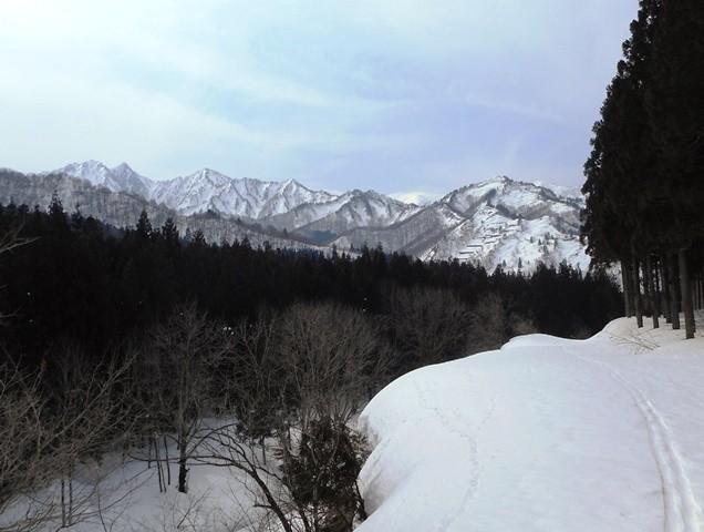 10・49 左から大源太山、七ツ小屋山、シシゴヤの頭等