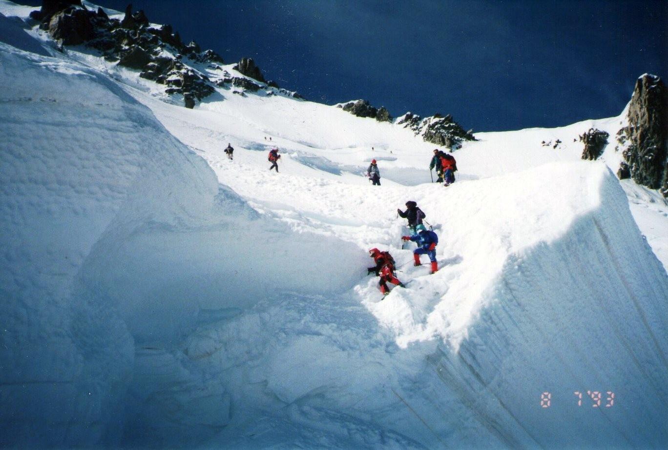 モンブラン下雪原10・10~50
