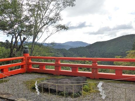 比叡山が見えた