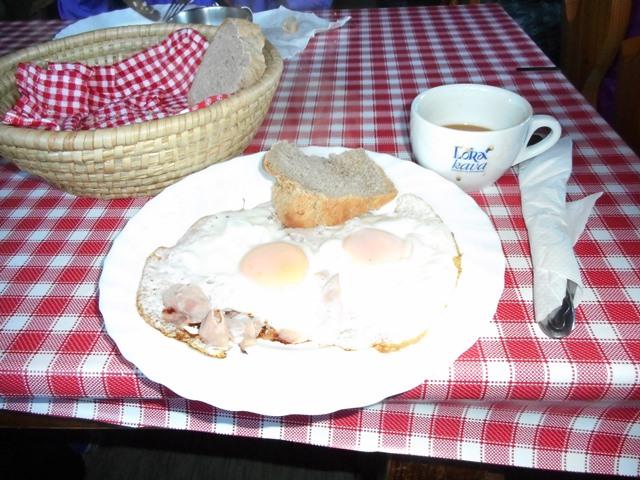 朝食6・00