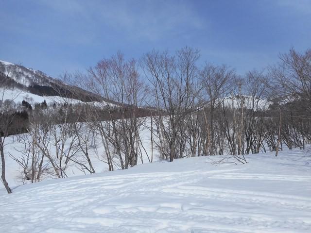 舞子スキー場方面