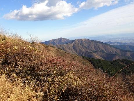 丹沢主稜 大山