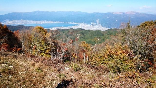 諏訪湖と霧ヶ峰