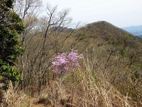 三ツ森北峰13:11 から麻生山
