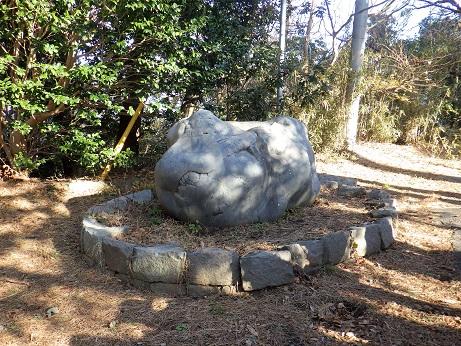 丑に似た石