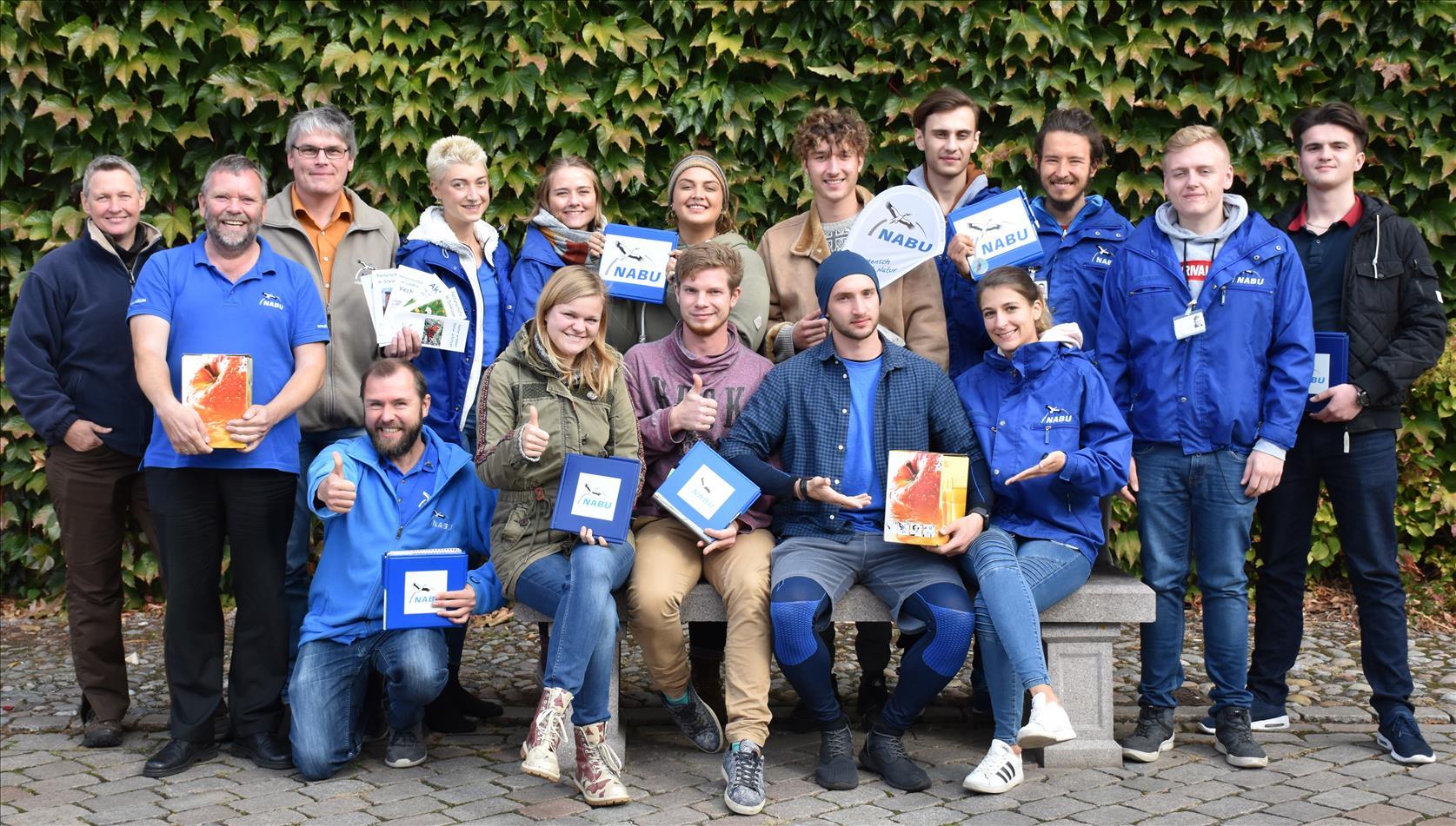 Das Team für die Mitgliederwerbung im Oktober 2018