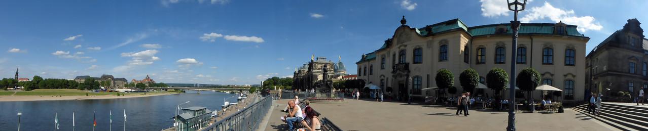 Brühlsche Terrasse / Dresden