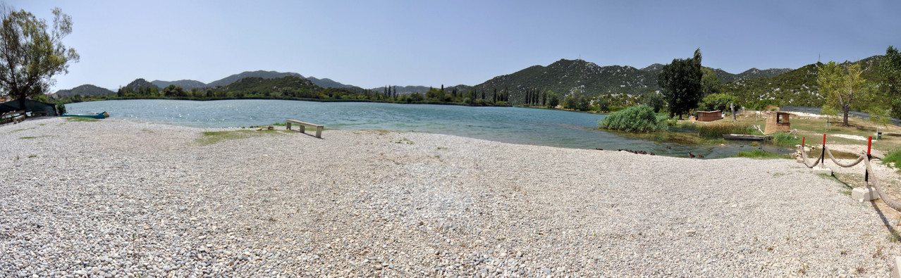 Bacina Lake N°2 / Kroatien -  ...unser Badesee im Urlaub...