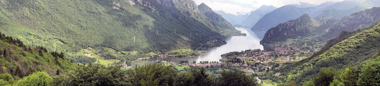 Lago de Idro N°2 / Italien