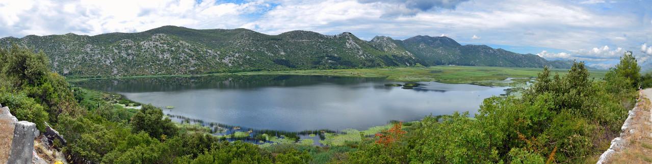 Jezero Kuti - See an der Grenze Kroatien - Bosnien