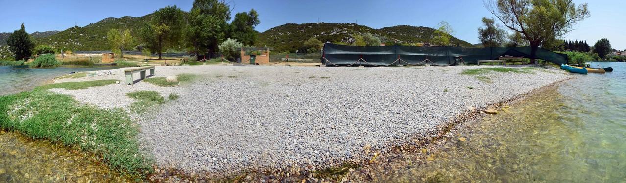 Bacina Lake N°3 / Kroatien - ...unser Badesee im Urlaub...