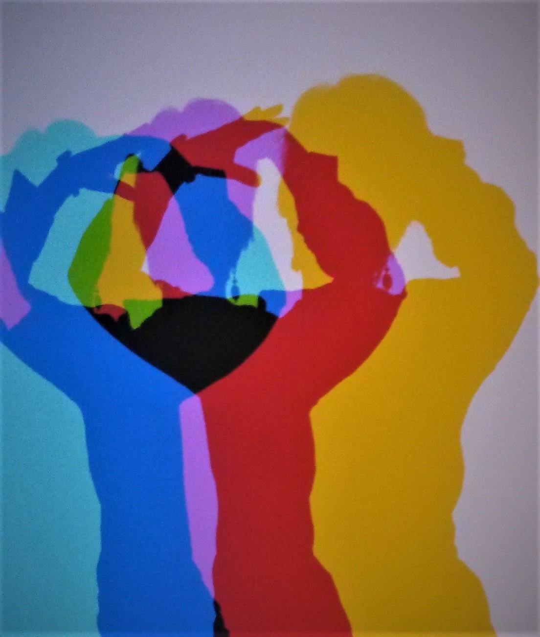 Regenbogen-Schatten, Foto