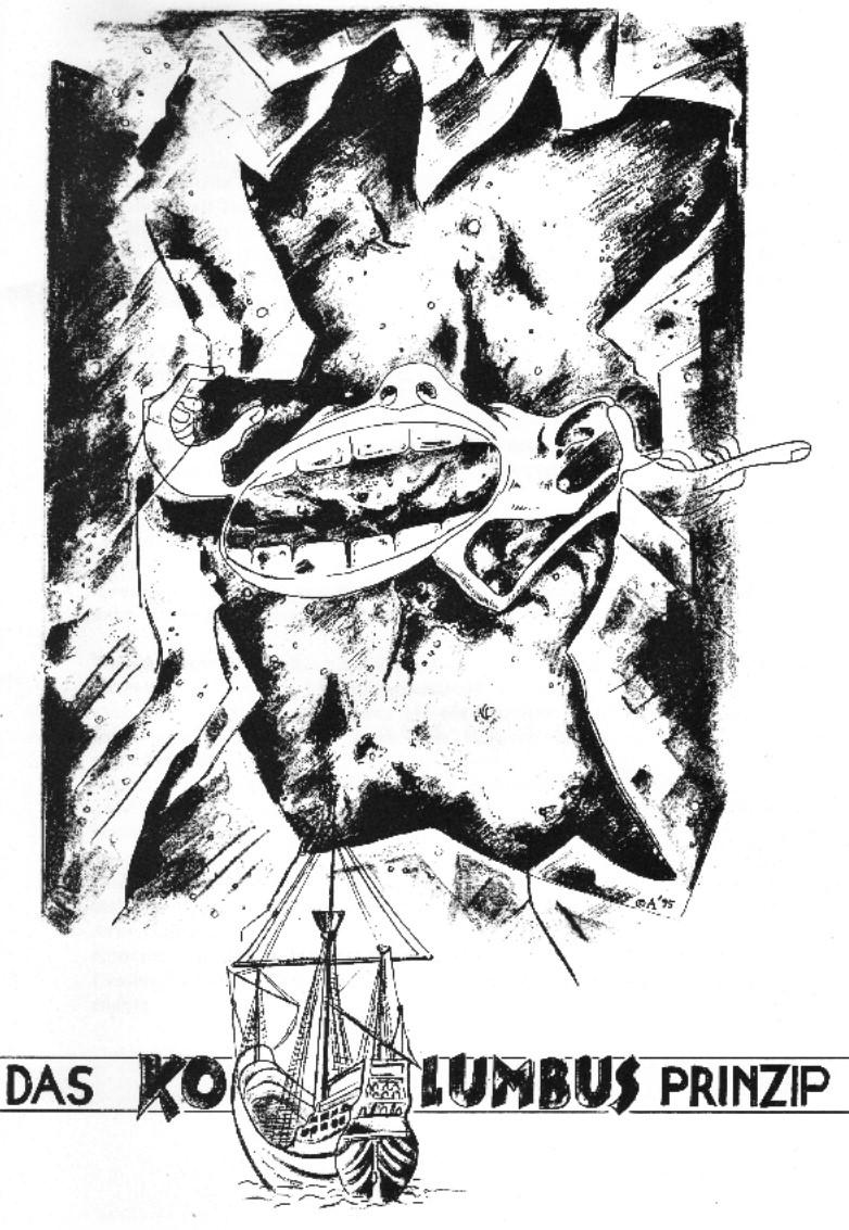 Das Kolumbusprinzip Umschlagseite