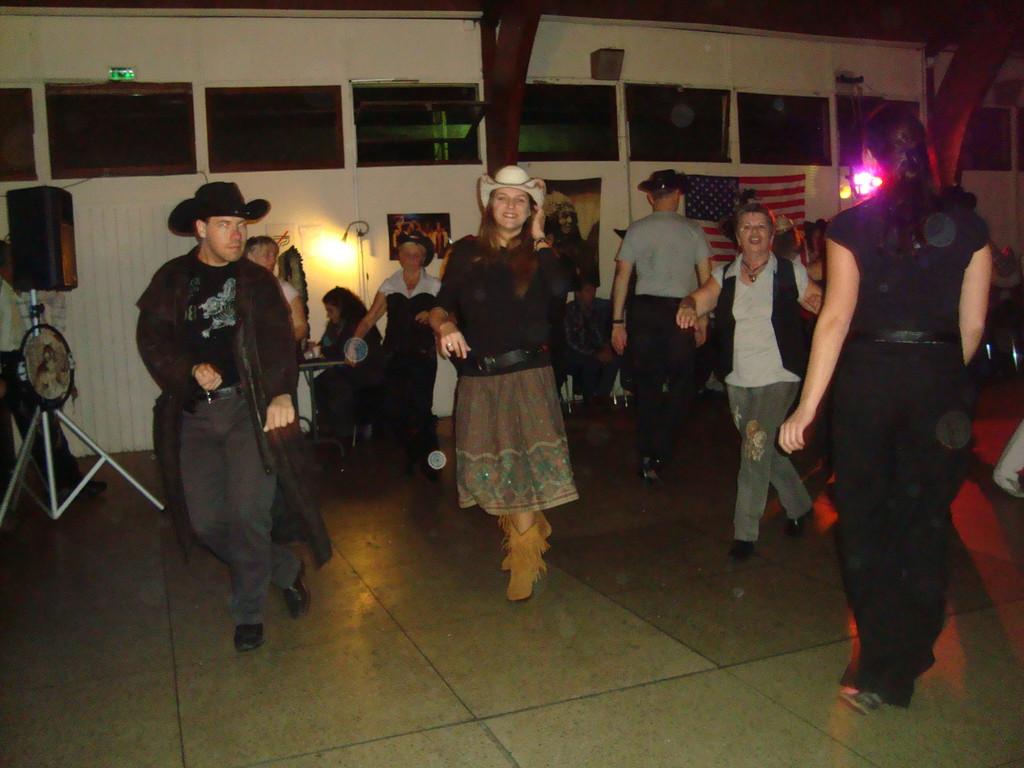 Soirée Country Les MILLES 14-11-09