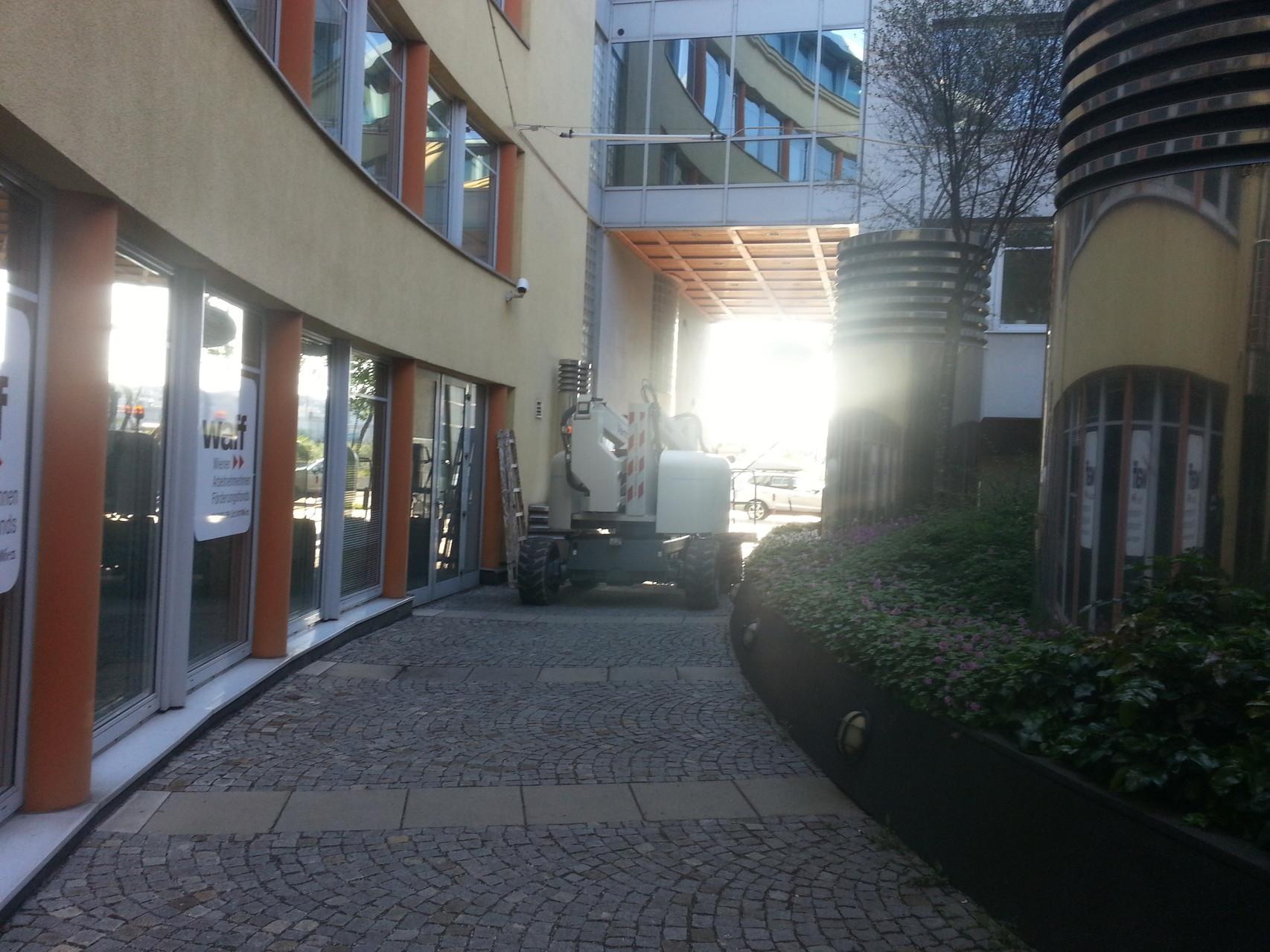 Fassadenreinigung bei der Firma Think Clean in Wien