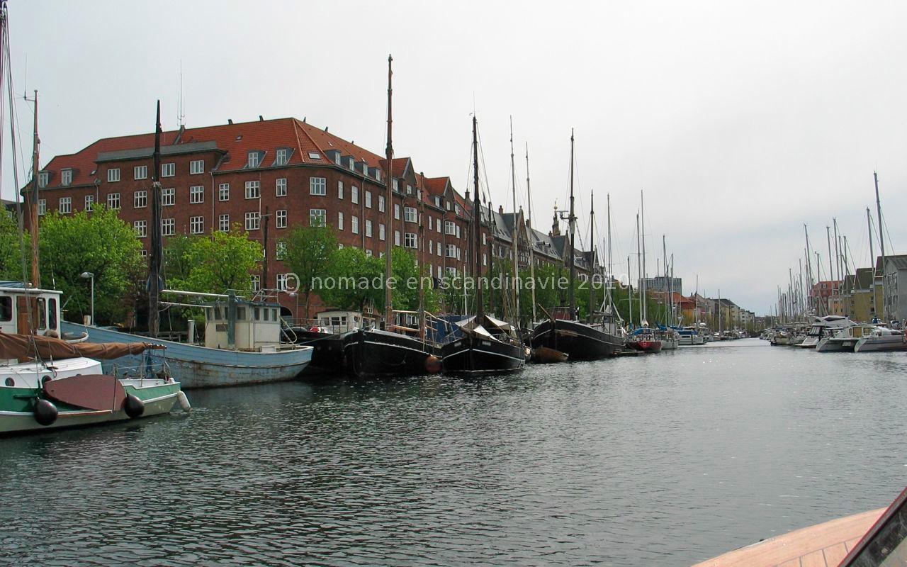 Un canal dans Christianhavn