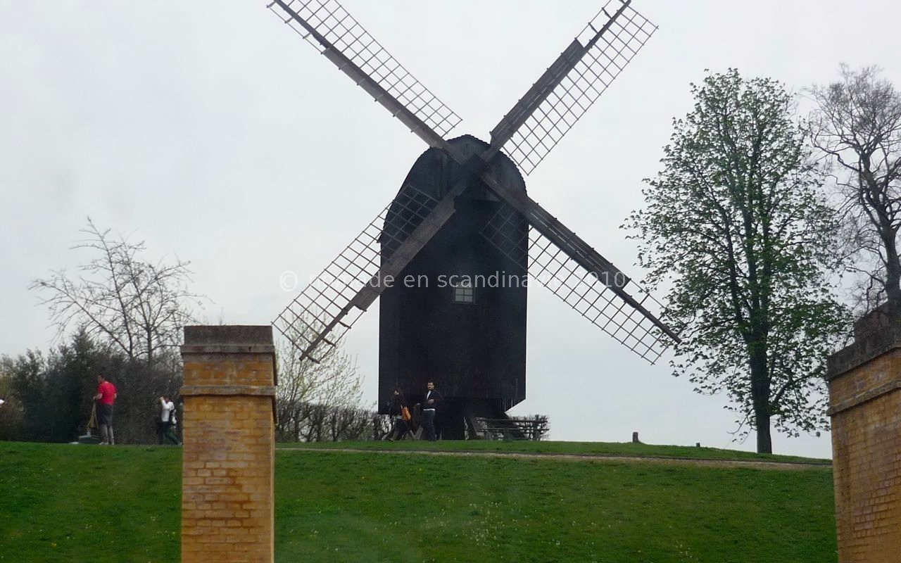 Den Gamle by (la vieille ville), à Aarhus, le moulin