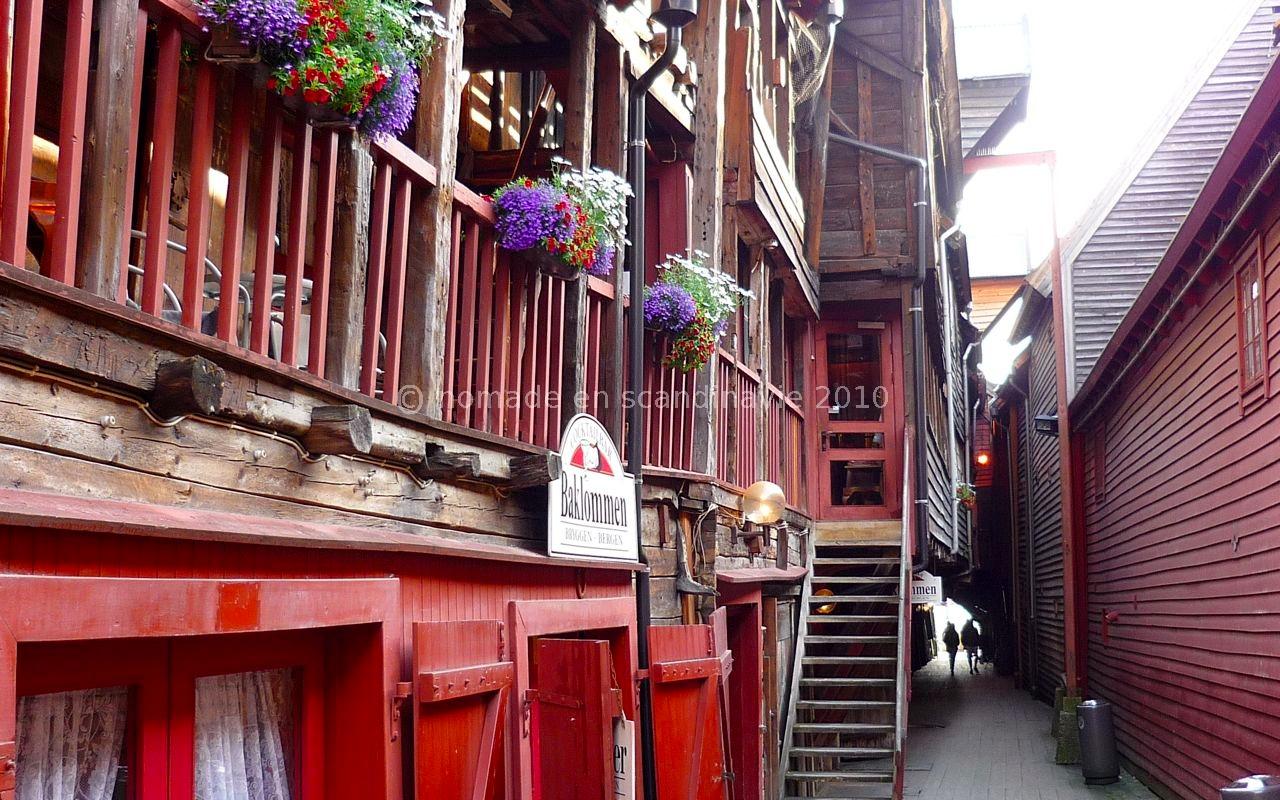 vieux quartier de Bryggen
