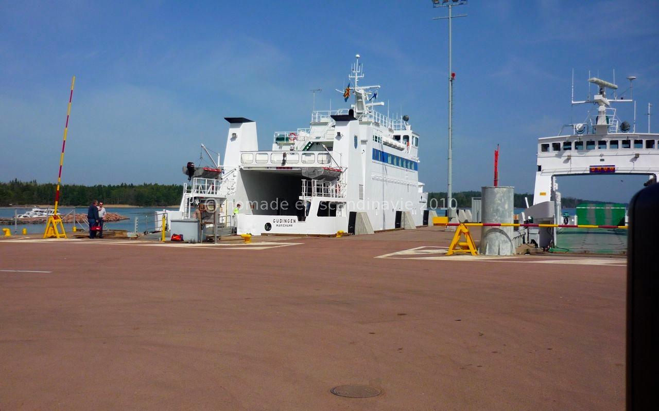 Le bateau pour Kökar nous attend