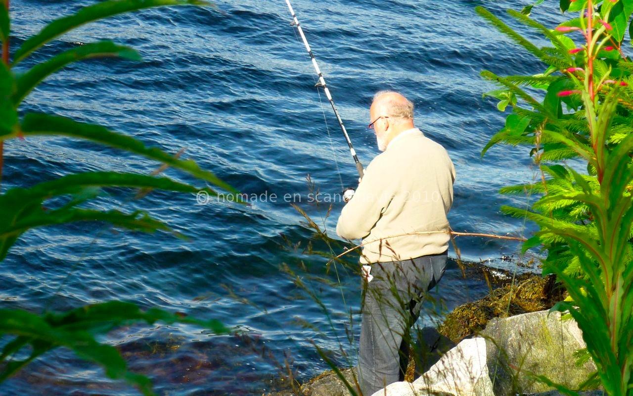 Jacques en pêcheur attentif