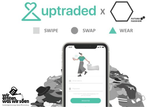 Swipe and Swap - START Future Fashion Kleidertausch auf Uptraded