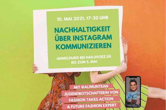 Nachhaltigkeit über Instagram kommunizieren