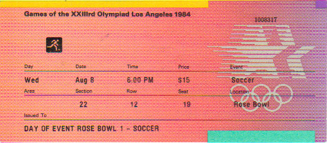 1984 Los Angeles : 1/2 Finale France - Yougoslavie