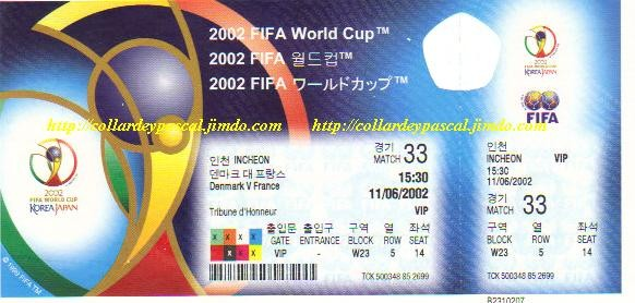 France  - Danemark (Japon / Corée 2002)
