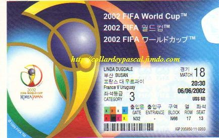 France  - Uruguay (Japon / Corée 2002)